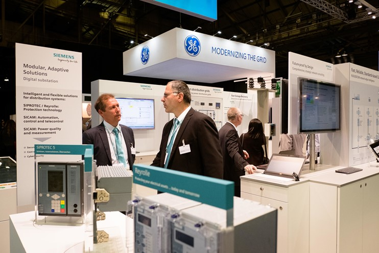 GE And Siemens Stands (1)